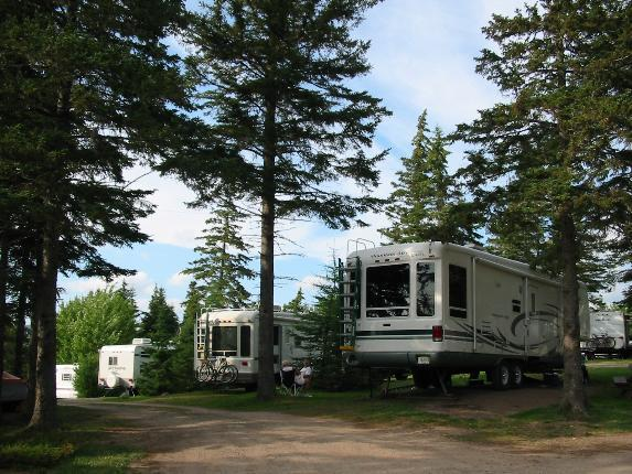 Baddeck Cabot Trail Campground Camping Select